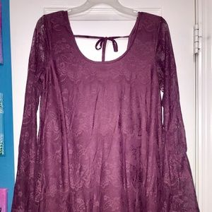 Altar'd State Purple Medium Dress